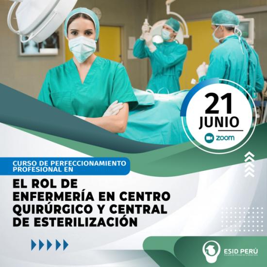 ROL DE ENFERMERÍA EN CENTRO QUIRÚRGICO Y CENTRAL DE ESTERILIZACIÓN