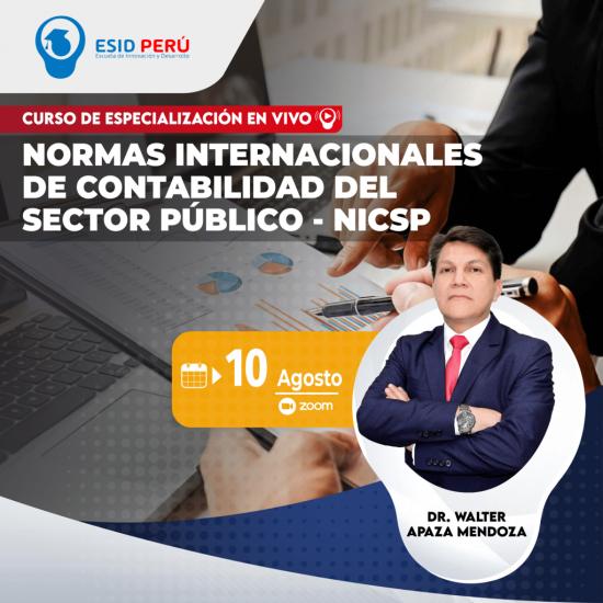 NORMAS INTERNACIONALES DE CONTABILIDAD DEL SECTOR PÚBLICO - NICSP