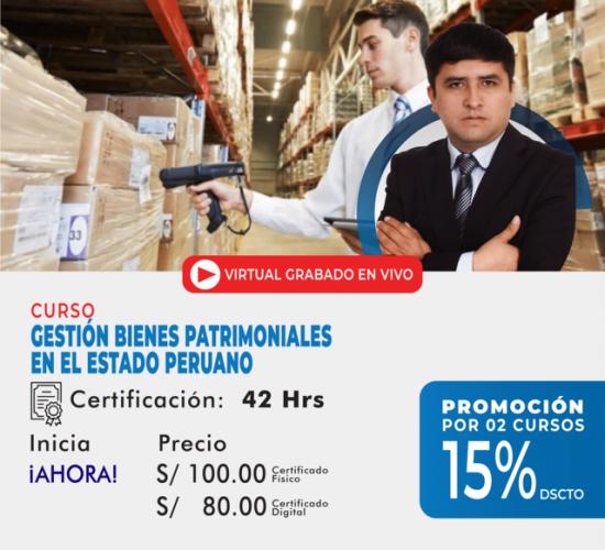 Gestión de Bienes Patrimoniales en el Estado Peruano